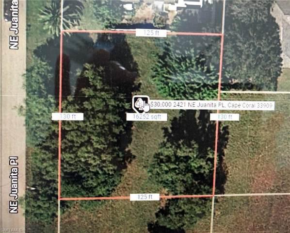 2421 NE Juanita Pl, Cape Coral, FL 33909 (MLS #221029059) :: Domain Realty