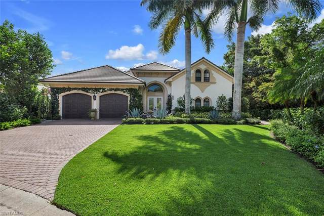 15214 Burnaby Dr, Naples, FL 34110 (MLS #221043020) :: #1 Real Estate Services