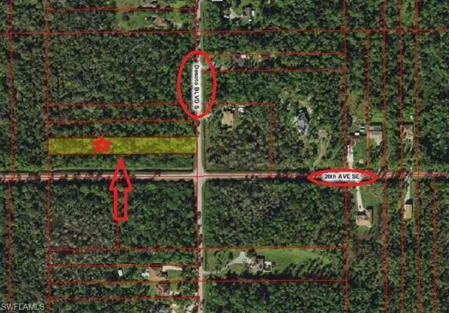 25th ave SE Destoto Blvd S, Naples, FL 34117 (MLS #221045322) :: Realty World J. Pavich Real Estate