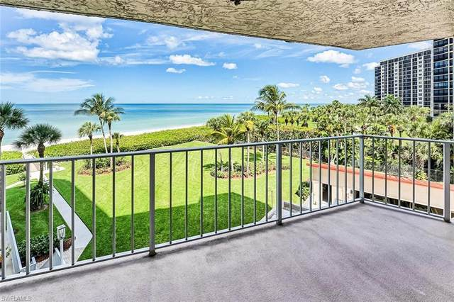 10701 Gulf Shore Dr #402, Naples, FL 34108 (MLS #221053369) :: Clausen Properties, Inc.