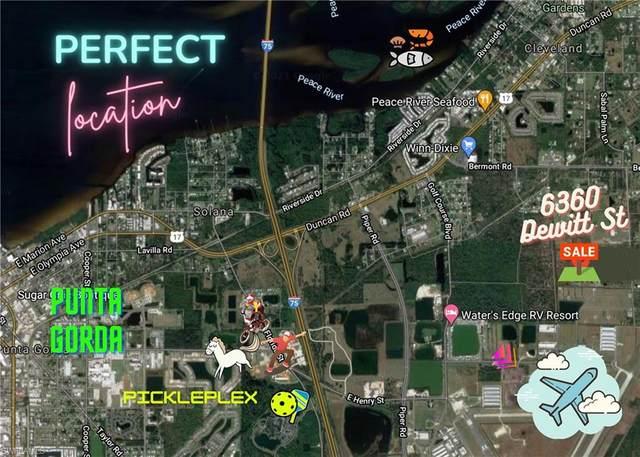 6360 Dewitt St, Punta Gorda, FL 33982 (MLS #221060285) :: Realty One Group Connections