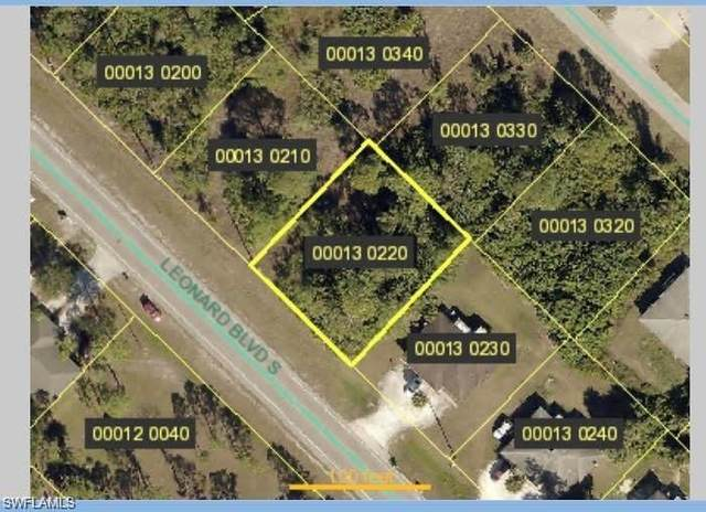 4932 Leonard Blvd S, Lehigh Acres, FL 33973 (MLS #221071130) :: Medway Realty