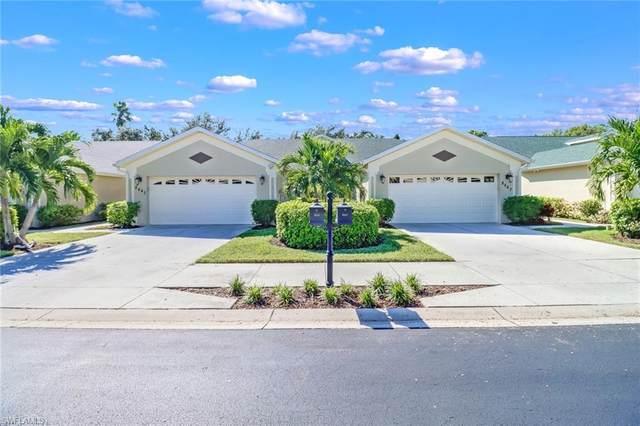8447 Ibis Cove Cir A-178, Naples, FL 34119 (#221074506) :: Equity Realty