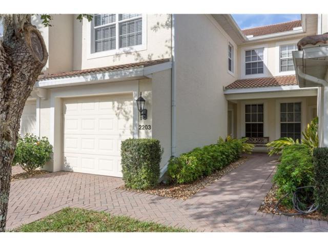 1380 Tiffany Ln #2203, Naples, FL 34105 (MLS #217030515) :: The New Home Spot, Inc.