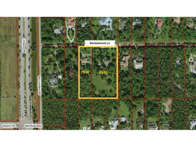 6980 & 7040 Sandalwood Ln, Naples, FL 34109 (MLS #217039891) :: The New Home Spot, Inc.