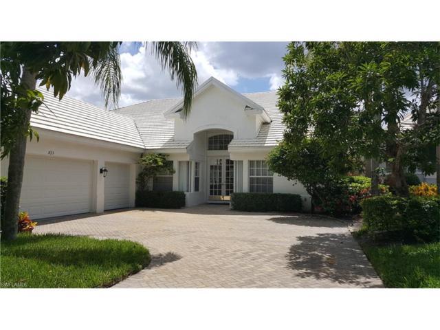 823 Ashburton Dr, Naples, FL 34110 (MLS #217041669) :: The New Home Spot, Inc.
