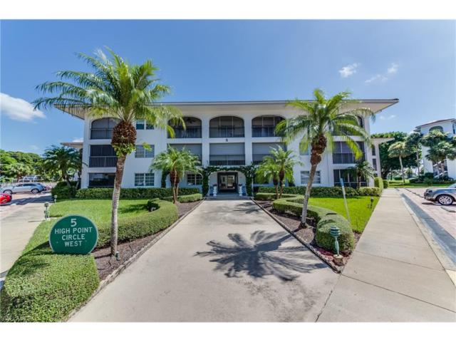 5 High Point Cir W #112, Naples, FL 34103 (MLS #217054357) :: The New Home Spot, Inc.