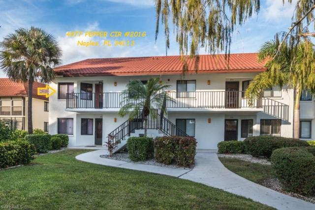 4977 Pepper Cir 201G, Naples, FL 34113 (MLS #218082749) :: Clausen Properties, Inc.