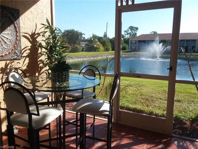 1950 Crown Pointe Blvd W B-105, Naples, FL 34112 (#219071040) :: The Dellatorè Real Estate Group