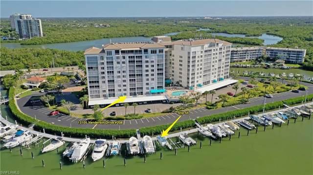 13105 Vanderbilt Dr #208, Naples, FL 34110 (MLS #219080623) :: #1 Real Estate Services