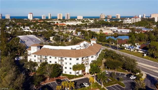 1100 Pine Ridge Rd B401, Naples, FL 34108 (#220006966) :: The Dellatorè Real Estate Group