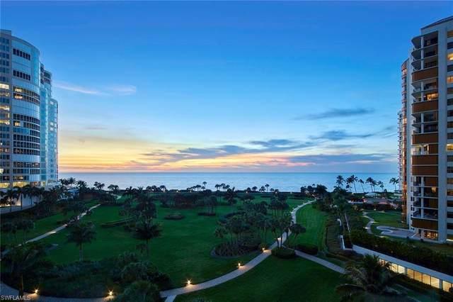 4201 Gulf Shore Blvd N #703, Naples, FL 34103 (MLS #220011705) :: Kris Asquith's Diamond Coastal Group