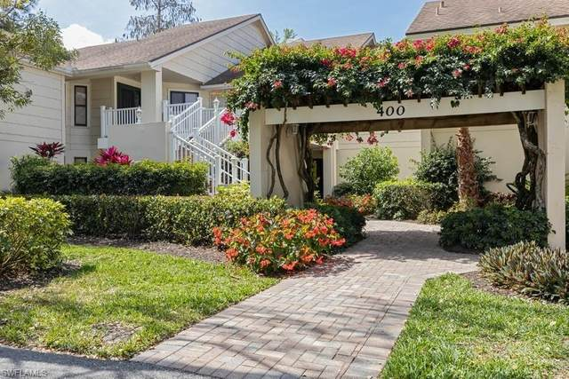 401 Courtside Dr D-101, Naples, FL 34105 (MLS #220020418) :: Domain Realty