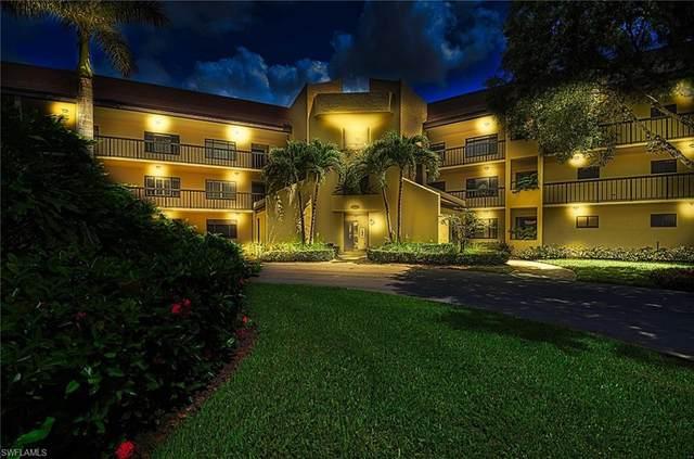 415 Augusta Blvd #109, Naples, FL 34113 (MLS #220048028) :: Palm Paradise Real Estate