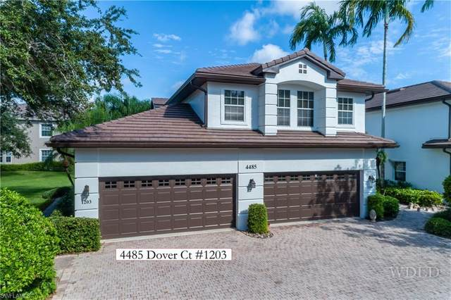4485 Dover Ct #1203, Naples, FL 34105 (MLS #220054664) :: RE/MAX Realty Group