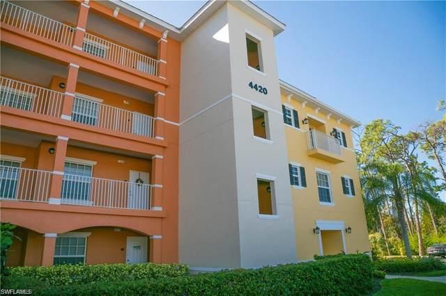 4420 Botanical Place Cir #301, Naples, FL 34112 (MLS #220057491) :: Florida Homestar Team