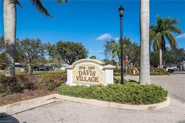 2800 Davis Blvd #206, Naples, FL 34104 (MLS #220062285) :: Clausen Properties, Inc.