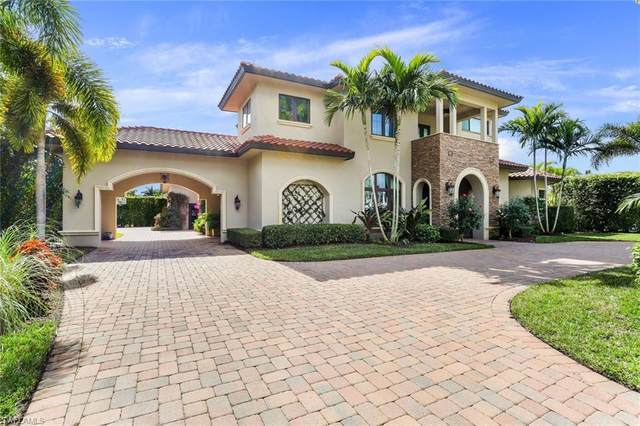 796 Portside Dr, Naples, FL 34103 (#221008758) :: Vincent Napoleon Luxury Real Estate