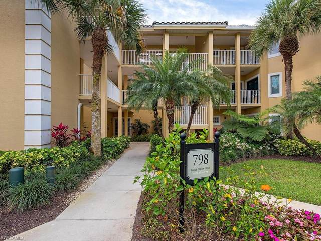 798 Eagle Creek Dr #203, Naples, FL 34113 (MLS #221022855) :: RE/MAX Realty Group