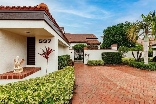 537 Bay Villas Ln #100, Naples, FL 34108 (MLS #221041697) :: Realty World J. Pavich Real Estate