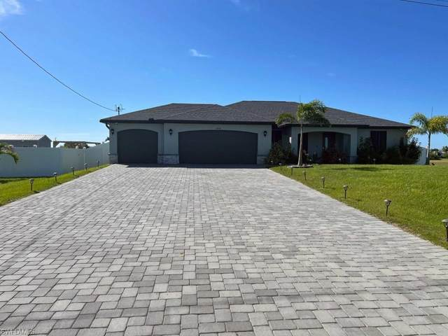 4206 NW 34th Ter, Cape Coral, FL 33993 (MLS #221074482) :: Medway Realty