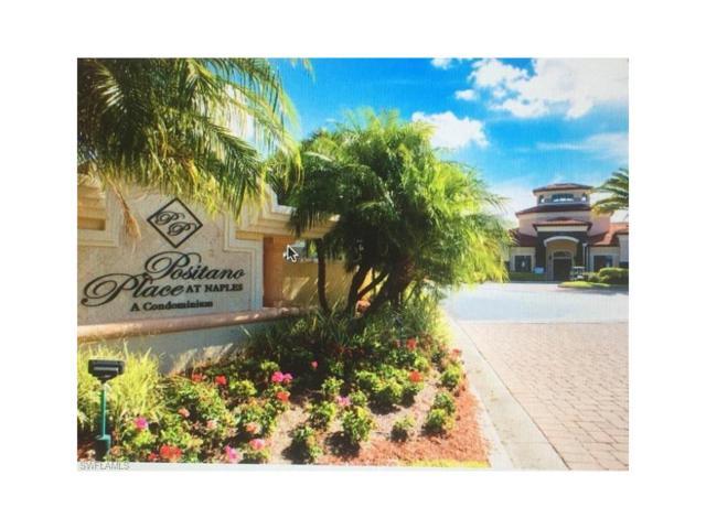 12990 Positano Cir #305, Naples, FL 34105 (MLS #217033966) :: The New Home Spot, Inc.