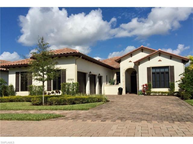 2289 Residence Cir, Naples, FL 34105 (MLS #217051241) :: The New Home Spot, Inc.