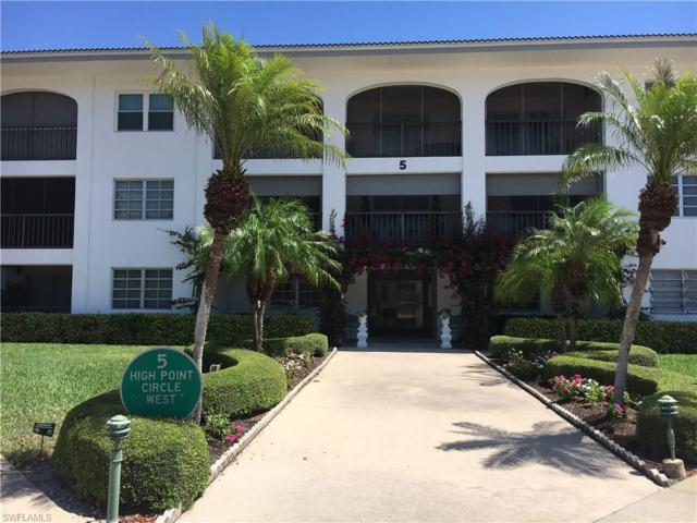 5 High Point Cir W #111, Naples, FL 34103 (MLS #218029057) :: The New Home Spot, Inc.