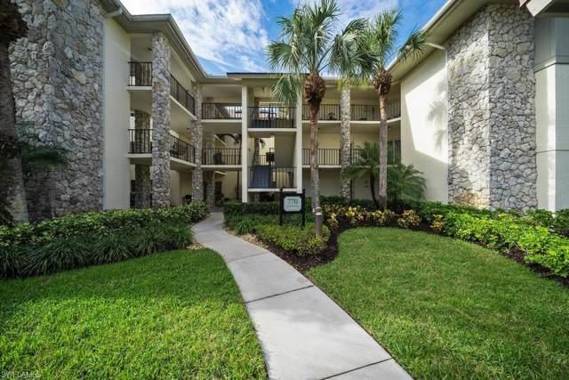 770 Eagle Creek Dr #203, Naples, FL 34113 (MLS #219065646) :: Clausen Properties, Inc.