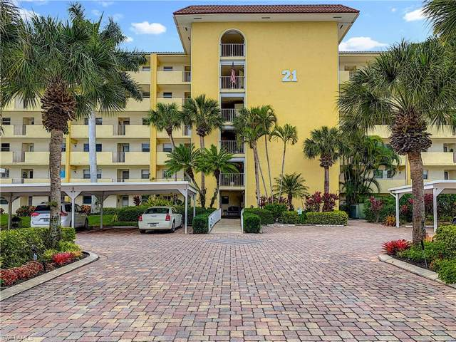 21 High Point Cir E #506, Naples, FL 34103 (MLS #220007102) :: Kris Asquith's Diamond Coastal Group