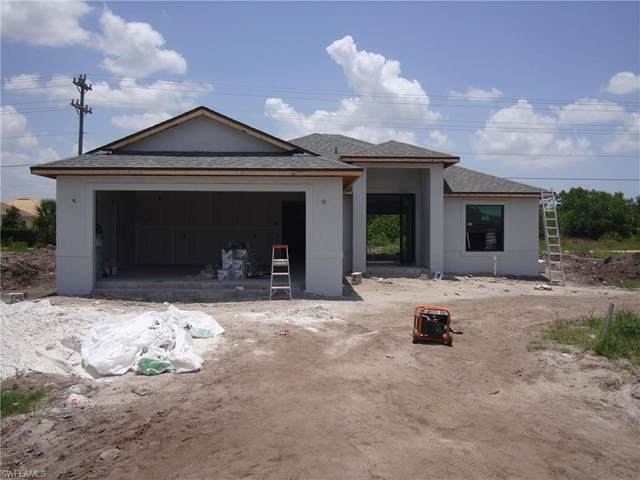 602 Morning Mist Ln, Lehigh Acres, FL 33974 (#220014691) :: The Dellatorè Real Estate Group
