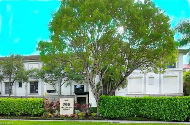 705 10th St S #306, Naples, FL 34102 (MLS #220052573) :: Kris Asquith's Diamond Coastal Group