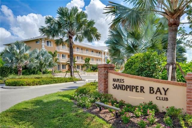 3032 Sandpiper Bay Cir G206, Naples, FL 34112 (MLS #220059632) :: Florida Homestar Team