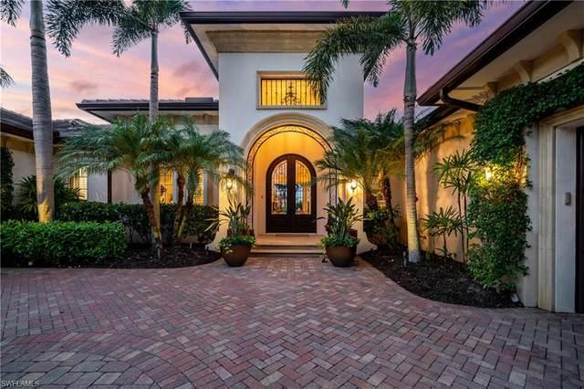 16517 Cellini Ln, Naples, FL 34110 (#221048718) :: The Dellatorè Real Estate Group