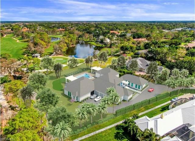 4445 Silver Fox Dr, Naples, FL 34119 (#221009183) :: The Dellatorè Real Estate Group