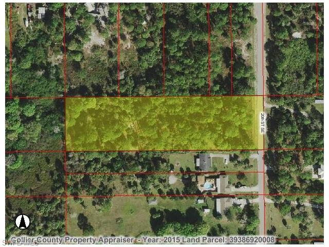 20th St SE, Naples, FL 34117 (#216001768) :: Homes and Land Brokers, Inc