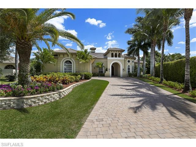 527 Turtle Hatch Ln, Naples, FL 34103 (#216002603) :: Homes and Land Brokers, Inc