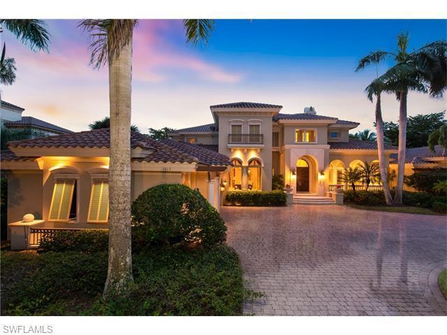 1813 Plumbago Way, Naples, FL 34105 (#216007830) :: Homes and Land Brokers, Inc