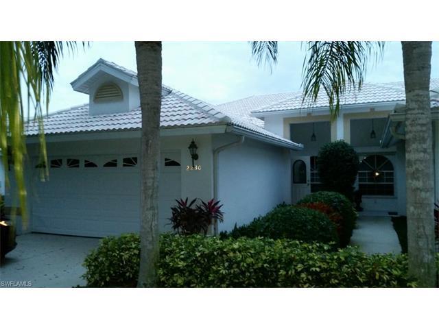 2230 Stacil Cir #2230, Naples, FL 34109 (MLS #216052702) :: The New Home Spot, Inc.