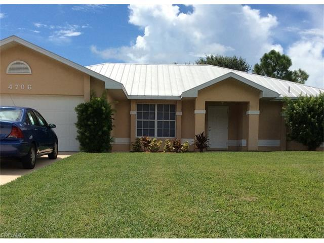 4706 SW 20th Ave, Cape Coral, FL 33914 (MLS #216058689) :: The New Home Spot, Inc.