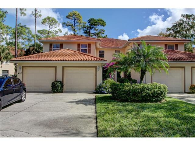 490 Robin Hood Cir #101, Naples, FL 34104 (MLS #216064837) :: The New Home Spot, Inc.