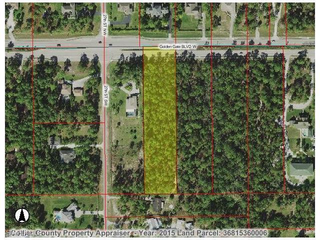 0000 Golden Gate Blvd, Naples, FL 34117 (#216065171) :: Homes and Land Brokers, Inc