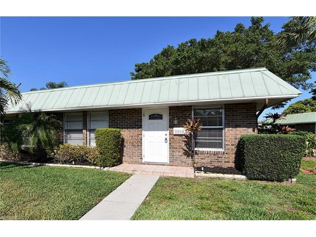 2858 Arbutus St F1, Naples, FL 34112 (#217026136) :: Homes and Land Brokers, Inc