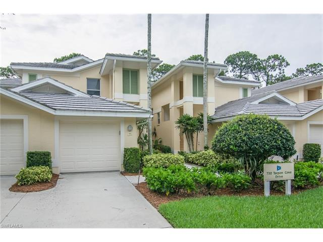 730 Tarpon Cove Dr #201, Naples, FL 34110 (MLS #217040347) :: The New Home Spot, Inc.
