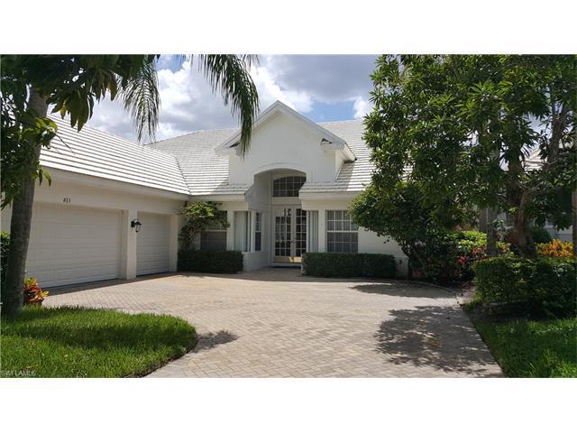 823 Ashburton Dr, Naples, FL 34110 (#217041669) :: Homes and Land Brokers, Inc