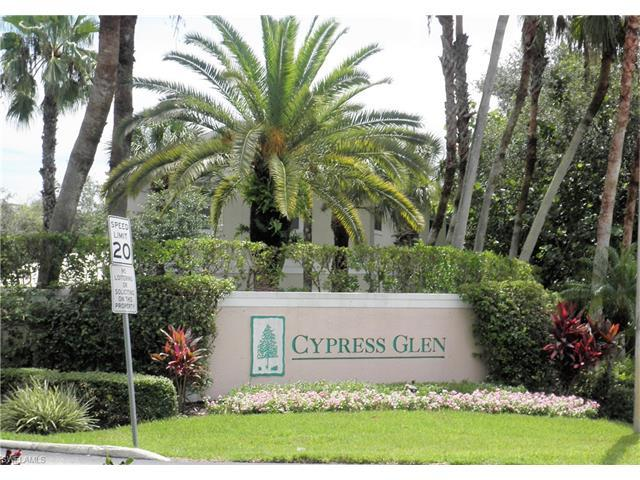 3225 Cypress Glen Way #105, Naples, FL 34109 (#217043464) :: Homes and Land Brokers, Inc