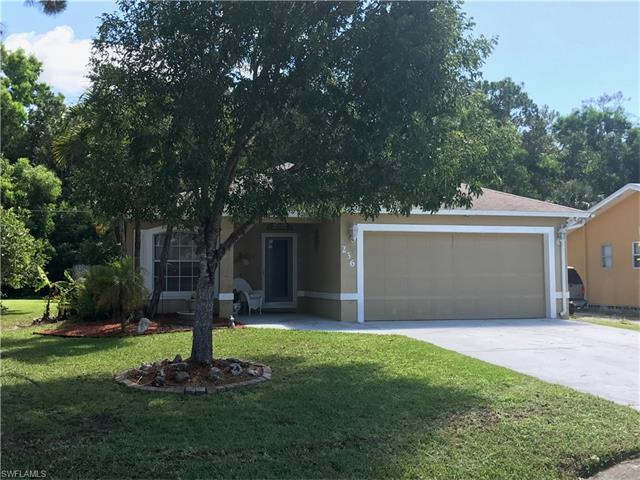 236 Benson St, Naples, FL 34113 (#217045948) :: Homes and Land Brokers, Inc