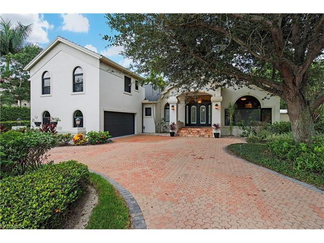 446 Rudder Rd, Naples, FL 34102 (#217048216) :: Homes and Land Brokers, Inc