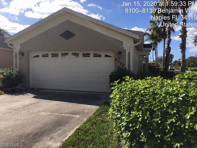 8294 Ibis Cove Cir B-233, Naples, FL 34119 (MLS #220007644) :: Kris Asquith's Diamond Coastal Group