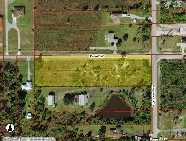 43rd AV & Everglages Blvd NE, Naples, FL 34120 (MLS #221012045) :: Domain Realty